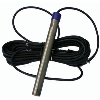 Dammvärmare i titanstål 300 W med 10 meter kabel